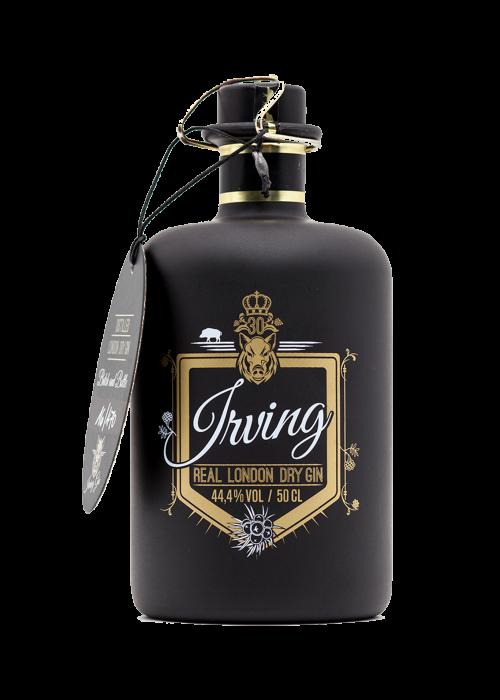 Irving Gin Flasche Webseite Start